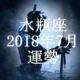 水瓶座(みずがめ座) 2018年7月の運勢