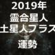 【2019年】霊合星人 土星人プラス(+)2019年の運勢を占う
