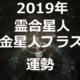 【2019年】霊合星人 金星人プラス(+)2019年の運勢を占う