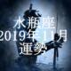 みずがめ座(水瓶座)2019年11月の運勢