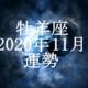 おひつじ座(牡羊座)2020年11月の運勢