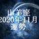 やぎ座(山羊座)2020年11月の運勢