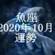 うお座(魚座)2020年10月の運勢