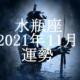 みずがめ座(水瓶座)2021年11月の運勢