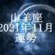 やぎ座(山羊座)2021年11月の運勢