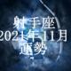 いて座(射手座)2021年11月の運勢