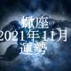 さそり座(蠍座)2021年11月の運勢